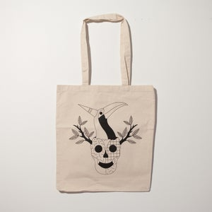 "Image of Tote bag ""Toucan"" par Hell'O Monsters"