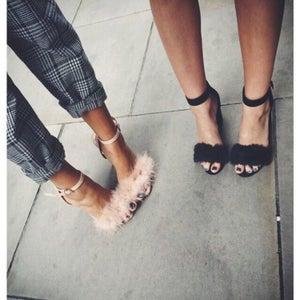 Image of Fur Fuzz Heels