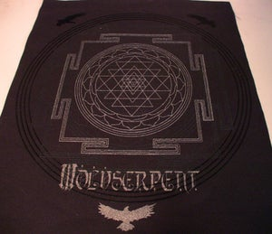 Image of Wolvserpent - Sacred Sri- Back Patch (out of stock)
