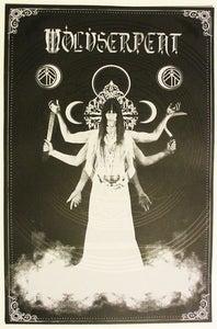Image of Wolvserpent - Perigaea Antahkarana - Silk Screened Poster (sold out)