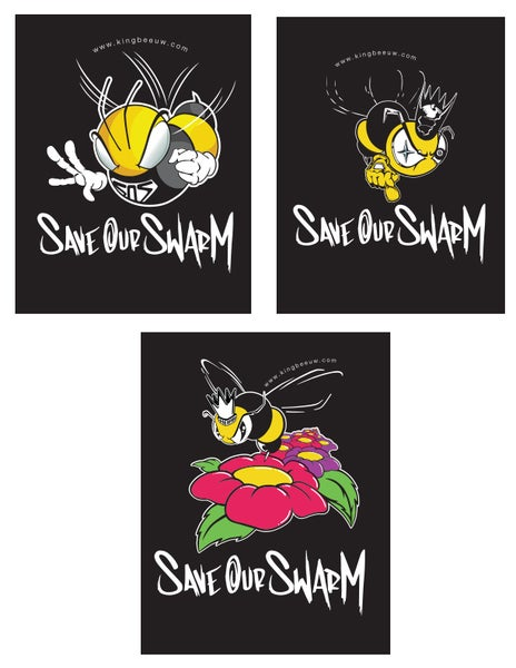 """Image of Kids """"Save Our Swarm"""" T-Shirts"""