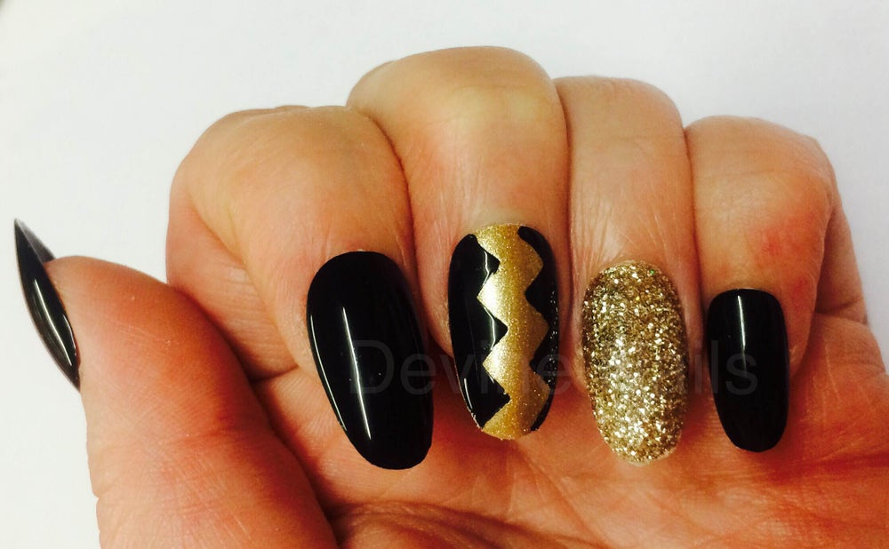 Image of Black and Gold