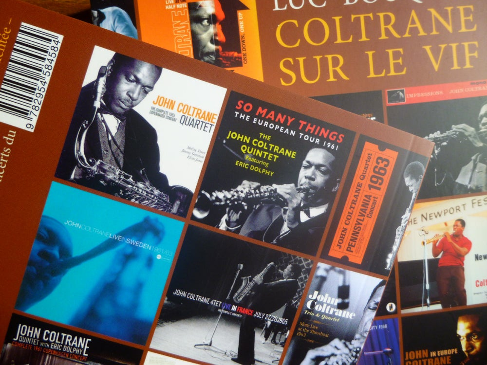 Image of Coltrane sur le vif de Luc Bouquet