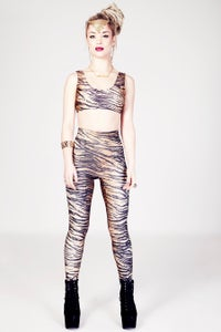 Image of JUZEL Leggings in TIGER PRINT