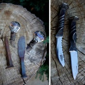 Image of Railroad Spike Knives