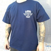 Image of Love Cycles Navy Tee with Original Logo