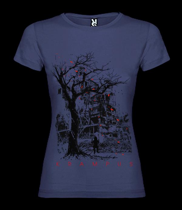 Image of Krampus - Aftermath - Female t-shirt - purple