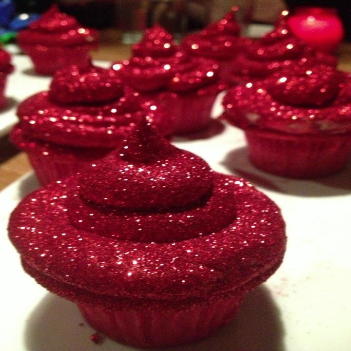Image of Glitter Cupcakes