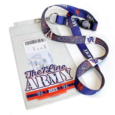 Image of Ticket holder lanyard