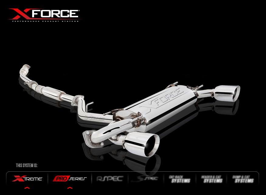 """Image of XForce Header-Back System 3"""" BRZ/FR-S"""
