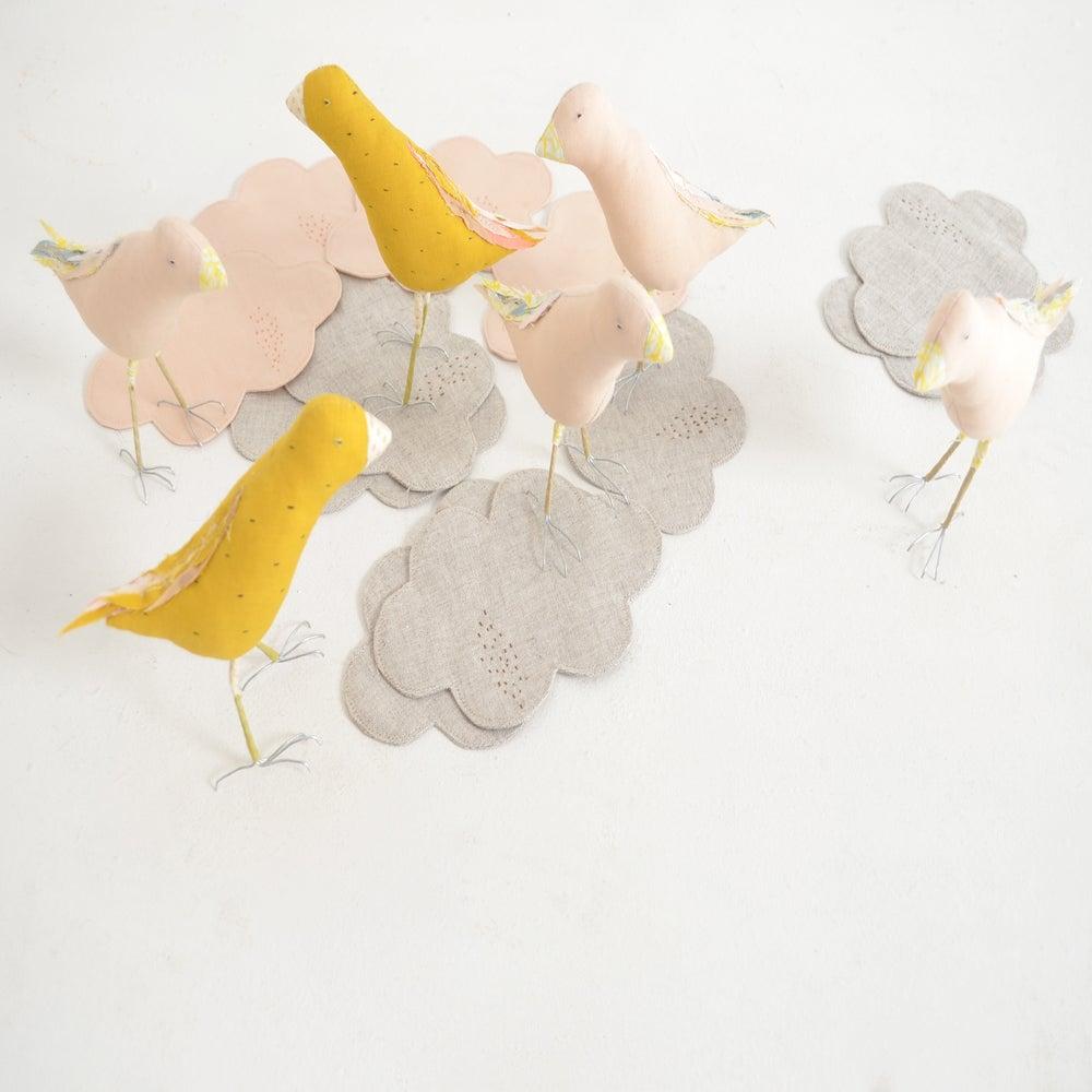 """Image of """"nuageux, parfois la pluie"""" cloud coaster"""