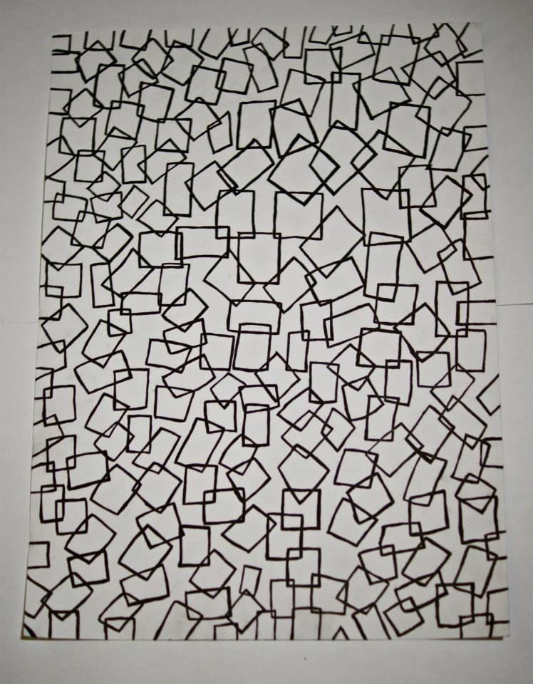 Image of Building Blocks Print
