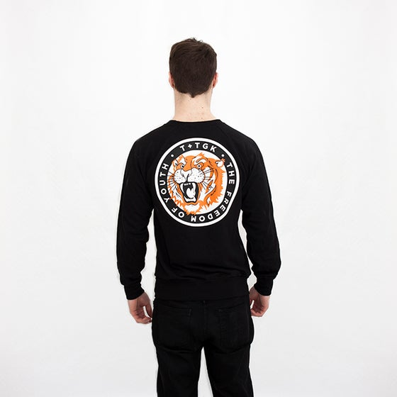 Image of THE TIGER SWEATER BLACK