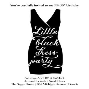 Image of Little Black Dress Party