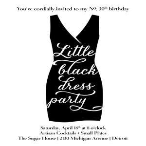 Image of Little Black Dress Party