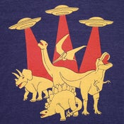 Image of Dinosaurs vs Aliens T-shirt