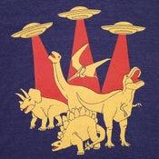 Image of Dinosaurs vs Aliens T-shirt