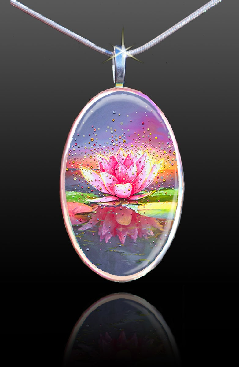 The Energy Art Store By Julia Watkins The Pink Lotus