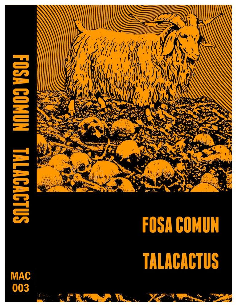 Image of Fosa Común // Talacactus - Split EP