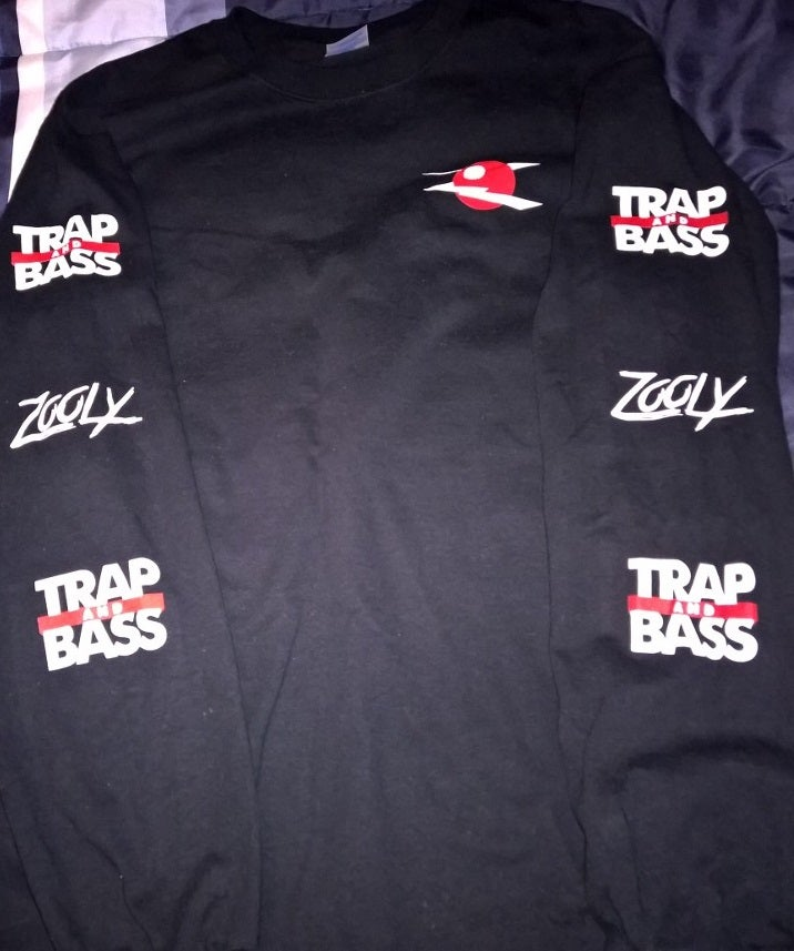 Image of Zooly x Trap and Bass Collab Longsleeve T-Shirt (Limited Edition)