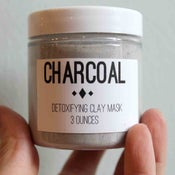 Image of Charcoal Clay Face mask