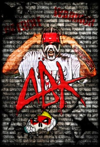 Image of ABK Brick Wall - Poster