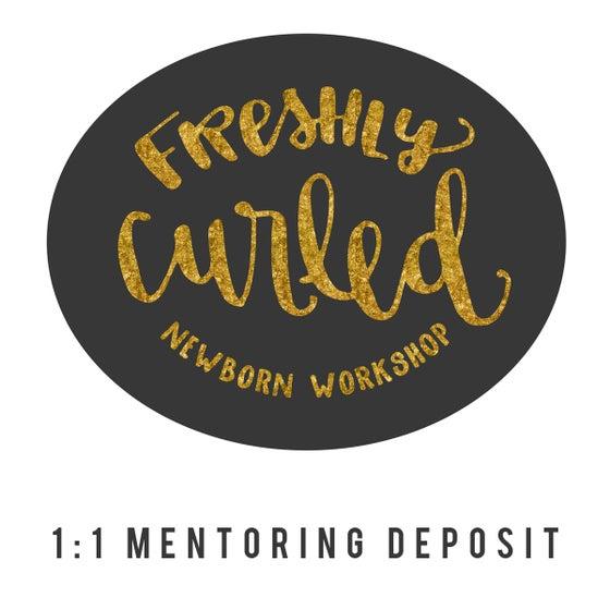 Image of FRESHLY CURLED 1:1 MENTORING DEPOSIT