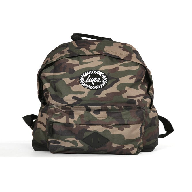 Image of HYPE. CAMO BACKPACK