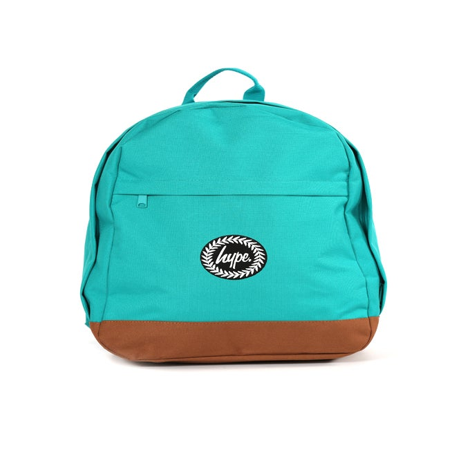 Image of HYPE. TEAL COLLEGE BACKPACK