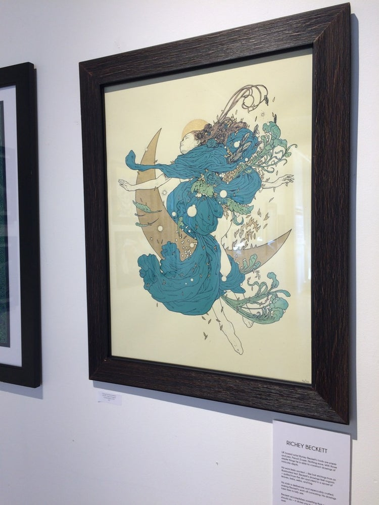 Image of Richey Beckett's 'Celestial'