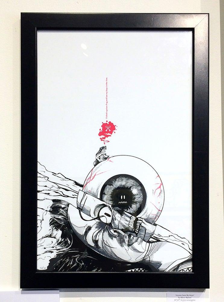 Image of Oliver Barrett's 'Anyone Seen My Keys?'