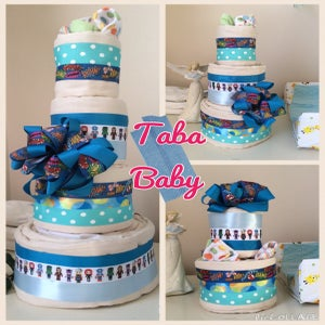 Image of Cloth Diaper Cake
