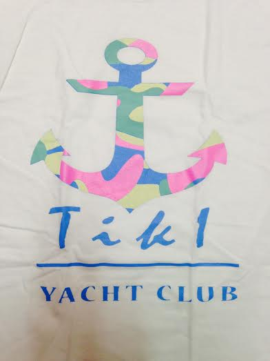 Image of #TIKI Yacht Club Tee(White)