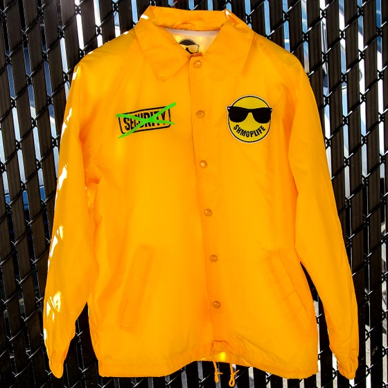 Image of FUCK SECURITY JACKET (YELLOW)