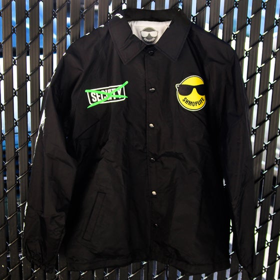 Image of FUCK SECURITY JACKET (BLACK)