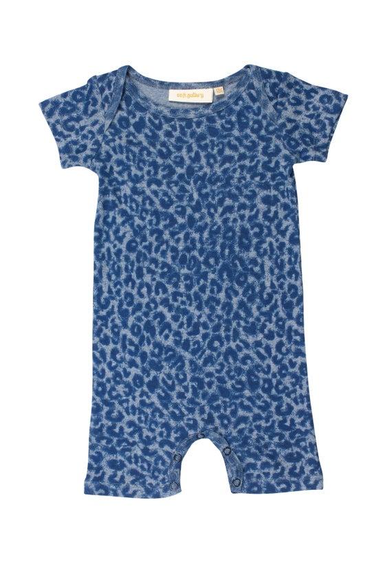 Image of SS15 <> Jumpsuit Combinaison bébé garçon Soft Gallery « Owen Dusty Leo » léopard <> 3M-24M
