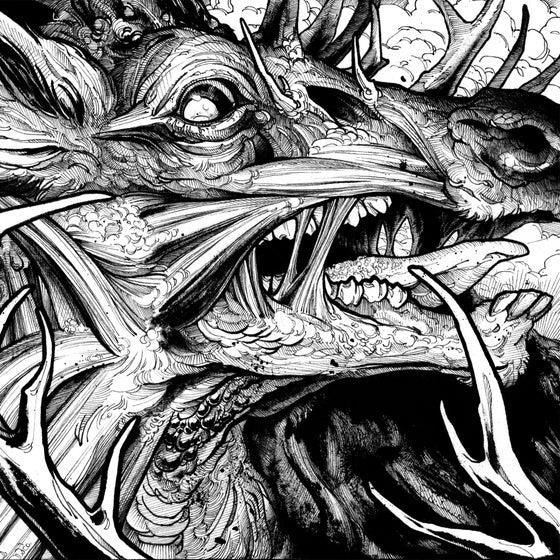 Image of The Black Antler - 100 Wolves CD