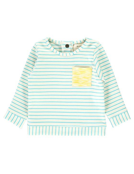 Image of OUTLET SS15 <>  Sweat-shirt marinière bébé garçon Blune « Bain de Soleil » <> 6M-2A