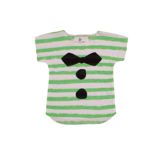 Image of SS15 <> T-shirt marinière manches courtes bébé garçon Noé&Zoé <> 0M-24M