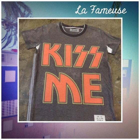 Image of Tee-shirt Kiss Me