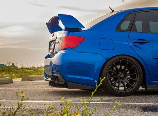 Image of 2011-2014 STi/WRX Sedan Diffuser