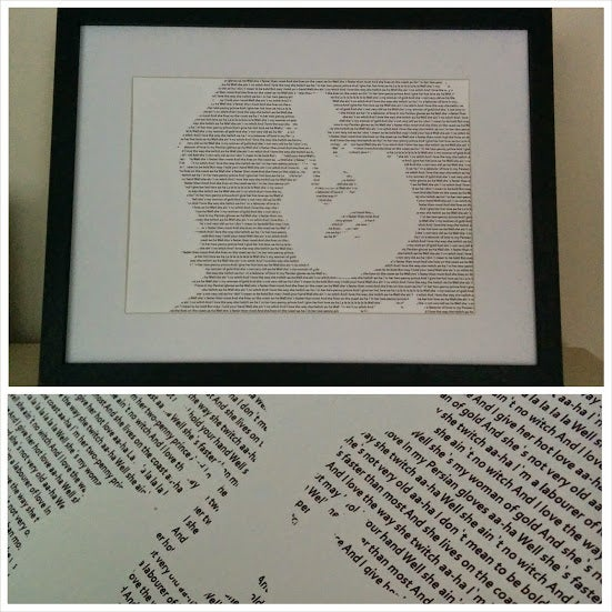 Image of Marc Bolan / Hot Love Print