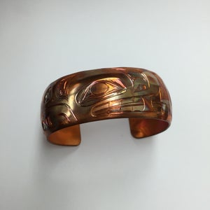 """Image of 1"""" Copper Bear"""