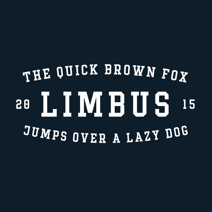 Image of «Limbus» Demo-Typeface – Licence for commercial use
