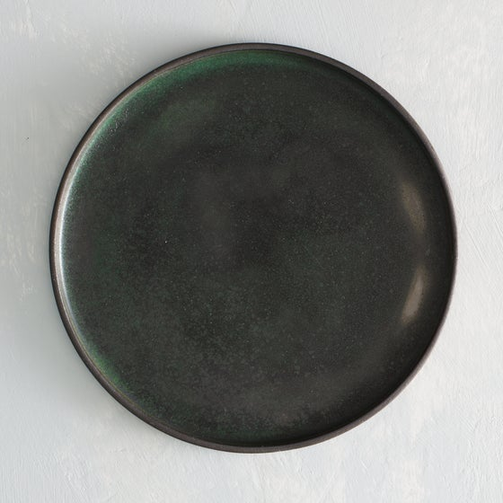 Image of Dark Forest dinner plate