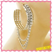 Image of Silver Chain Gang Earrings