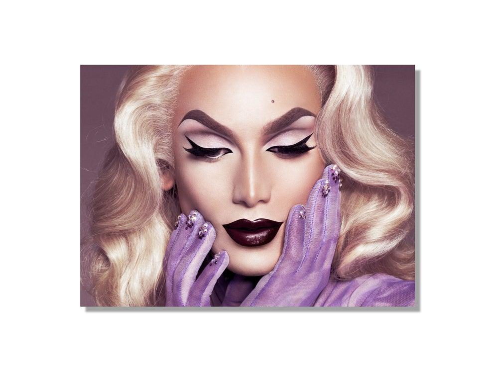 Image of Miss Fame is SuperNatural Blonde (5 x 7)