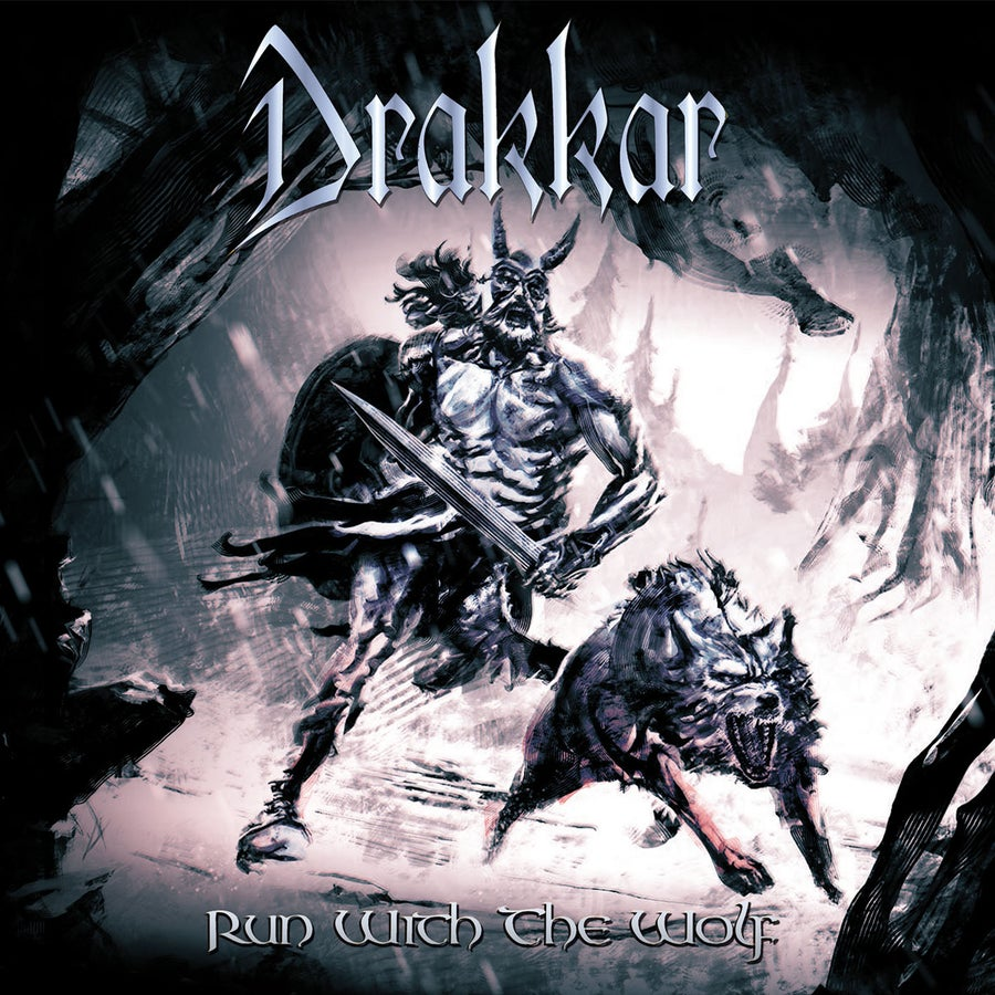 "Image of DRAKKAR ""Run With The Wolf"" 2xdigiCD"