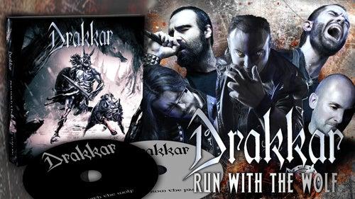"Image of DRAKKAR ""Run With The Wolf"" 2xdigiCD"