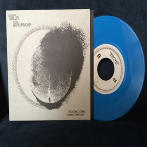 "Image of Dwight Twilley/Josh Berwanger Split 7""- ""Shooting Stars b/w Some Other Guy"" OPAQUE BLUE"